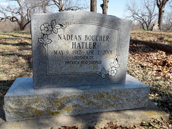 Nadine <i>Boucher</i> Hatler