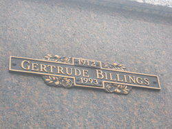Gertrude Billings