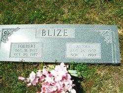 Tolbert Melvin Blize