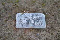 Mary Jane <i>Merrell</i> Beall