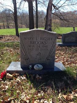 Mary L <i>Rigsby</i> Brooks