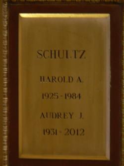 Harold Adolph Schultz
