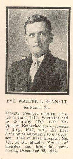 Walter James Bennett