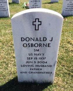 Donald J Osborne
