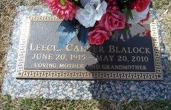 Leecie <i>Carver</i> Blalock