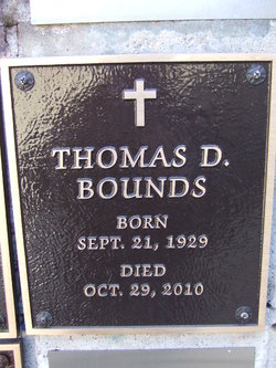 Thomas Darrell Bounds