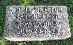 Julia Montague <i>Newton</i> Batcheller
