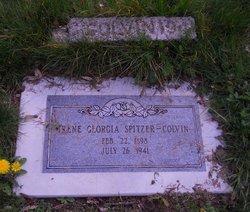 Irene Georgia <i>Spitzer</i> Colvin