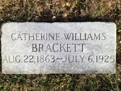 Catherine <i>Williams</i> Brackett