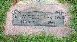 Ruby <i>Welch</i> Barlow