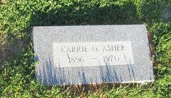 Carrie Odessa <i>Alexander</i> Asher