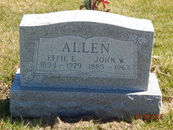 Effie Elsie <i>Green</i> Allen