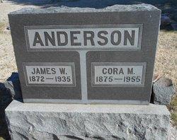 Cora M Anderson