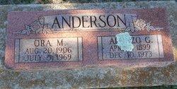 Ora M Anderson