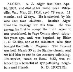 Andrew W.J. Alger
