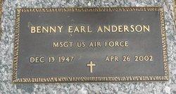 Benny Earl Anderson