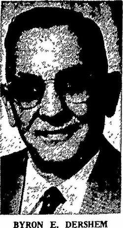 Byron Homer Dershem