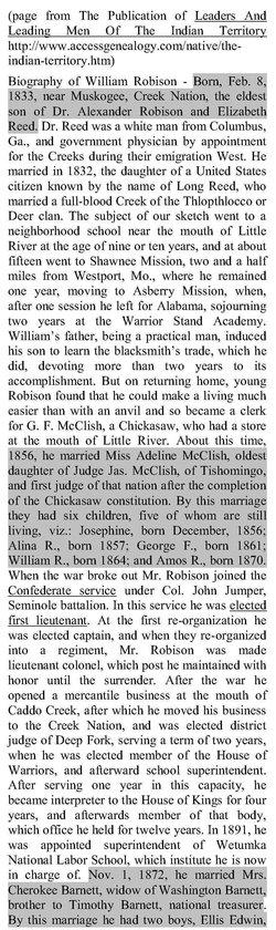 Col William Robinson