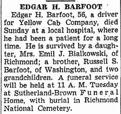 Edgar Hobson Barfoot