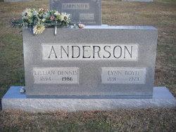 Lillian <i>Dennis</i> Anderson