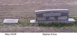 Mary Ann <i>Thompson</i> Imhoff