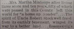 Martha <i>Baldwin</i> Mintonye