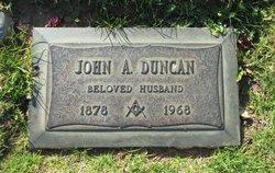 John A Duncan