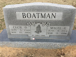 Cecil O Boatman