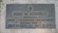 Fred M Acevedo