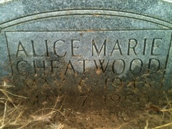 Alice Marie Cheatwood