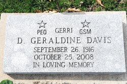 Dorothea Geraldine Gerri <i>Gilstrap</i> Davis