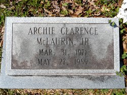 Archie Clarence McLaurin, Jr