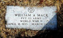 William A Mack
