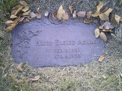 Alice Eloise Adams
