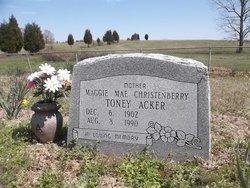 Maggie Mae <i>Christenberry</i> Acker