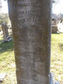 Frederick M. Thompson