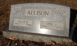 Opal Dorothy <i>Hamlin</i> Allison