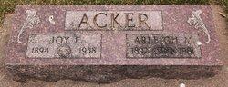 Joy E <i>Wissler</i> Acker