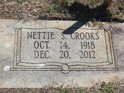 Nettie Sue <i>Schronce</i> Crooks