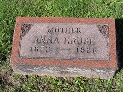 Anna Katherine Elizabeth <i>Licht</i> Kruse