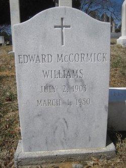 Edward McCormick Williams