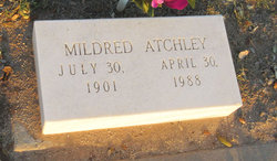 Willie Mildred <i>Glenn</i> Atchley