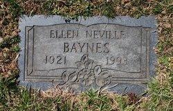 Ellen G. <i>Neville</i> Baynes