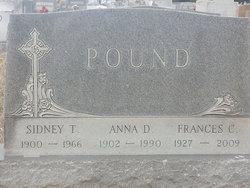 Anna Alberta <i>Debruyn</i> Pound