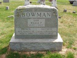 Wilbur P. Bowman