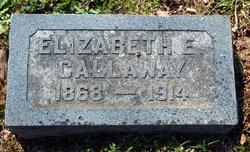 Elizabeth E Lizzie Callaway