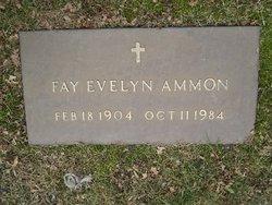 Fay Evelyn <i>Minch</i> Ammon
