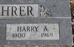 Harry A Schehrer