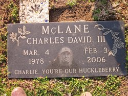 Charles David Charlie McLane, III