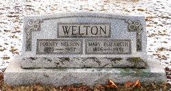 Mary Elizabeth <i>DeWoody</i> Welton